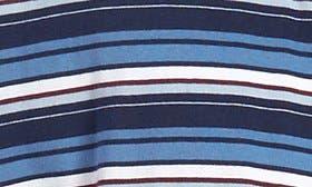 Navy/ Burgundy Stripe swatch image