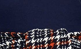 Navy/ Orange Checkers swatch image