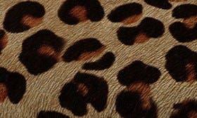 Leopard Print Calf Hair swatch image