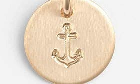 14K Gold Fill Anchor swatch image