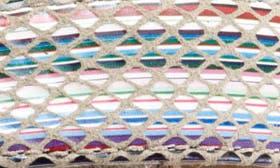 Sand/ Sand Multi Leather swatch image