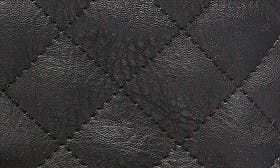 Black Quilted swatch image
