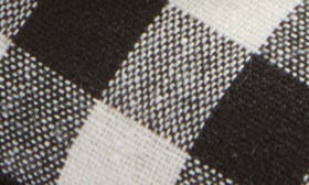 Black/ White Fabric swatch image