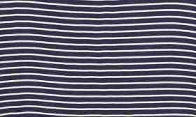 Navy Tiny Stripe swatch image