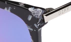 Black White/ Blue swatch image