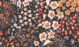 Black Floral Collage swatch image