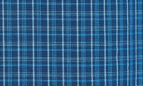 Navy Medieval- Blue Plaid swatch image