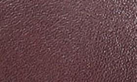 Dark Burgundy Leather swatch image