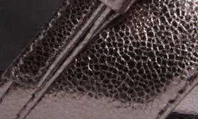 Gunmetal Leather swatch image