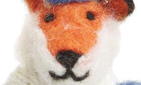 Orange Multi Fox Ornament swatch image