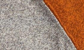 Grey Medium Heather- Orange swatch image