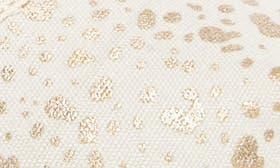 Gold Foil Snow Spots swatch image