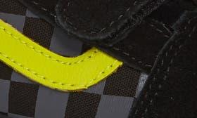 Checkerboard Black/ Reflective swatch image