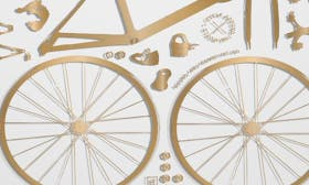 City Bike Metallic Gold/ Clear swatch image