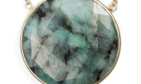 Mystic Black Spinel/ Emerald swatch image