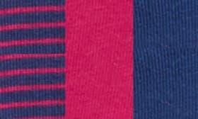 Estate Blue/ Amaranth/ Stripe swatch image