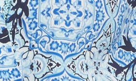 Blue Palace Tile Floral swatch image
