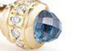 Gold/ Diamond/ Blue Topaz swatch image