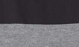 Black- Heather Grey Stripe swatch image