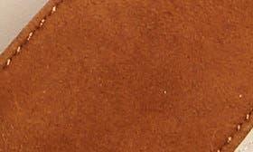 Cognac Suede swatch image