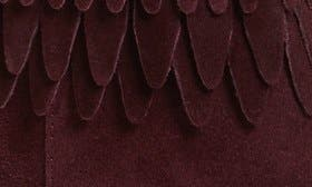 Bordeaux Suede swatch image selected