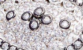 Rhodium And Black Rhodium swatch image