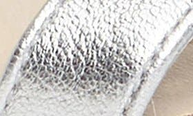 Soft Silver Leather swatch image