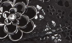 Night Poppy Leather swatch image