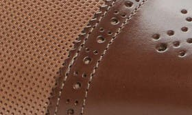 Dark Brown/ Taupe Leather swatch image