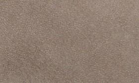 Grey Nubuck Leather swatch image