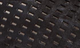 Black Nubuck Leather swatch image