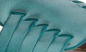 Laguna Blue Leather swatch image