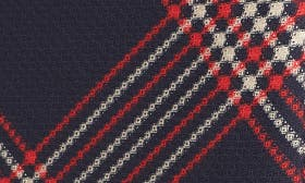 Navy- Red Plaid swatch image