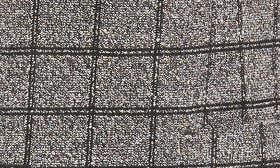 Charcoal Windowpane Boucle swatch image