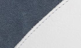 White/ Jeans Leather swatch image