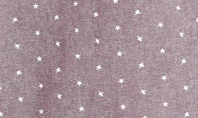 Burgundy Stem Stars Print swatch image