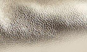 Gold Metallic Nappa Leather swatch image