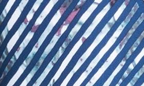 Blue Depths Diagonal Print swatch image