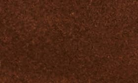 Brown/ Brown Suede Leather swatch image