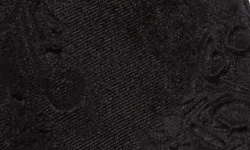 Black Embossed Velvet swatch image