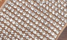 Rhinestone Faux Leather swatch image