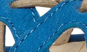 Electric Blue Leather swatch image