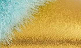 Gold/ Turquoise swatch image