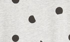 Grey Marl/ Black Dot swatch image