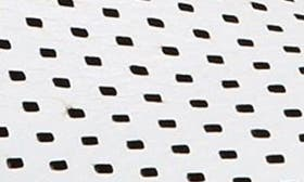 White Pebbled Leather swatch image