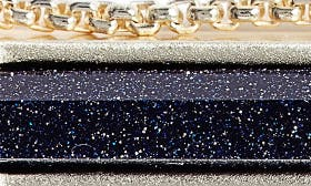 Blue Goldstone/ Gold swatch image