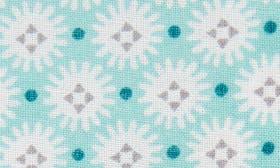 Aqua Hand Print swatch image