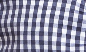 Navy Evening- White Gingham swatch image