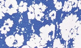 Royal Blue/ Abstract Daisy swatch image