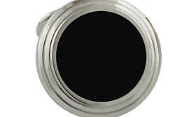 Silver Round Onyx Stud Set swatch image
